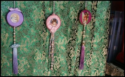 Victorian inspired tassels