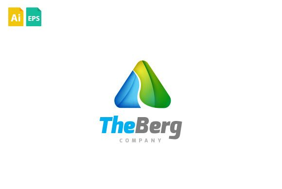 The Berg Logo by Maddesign Store on Creative Market