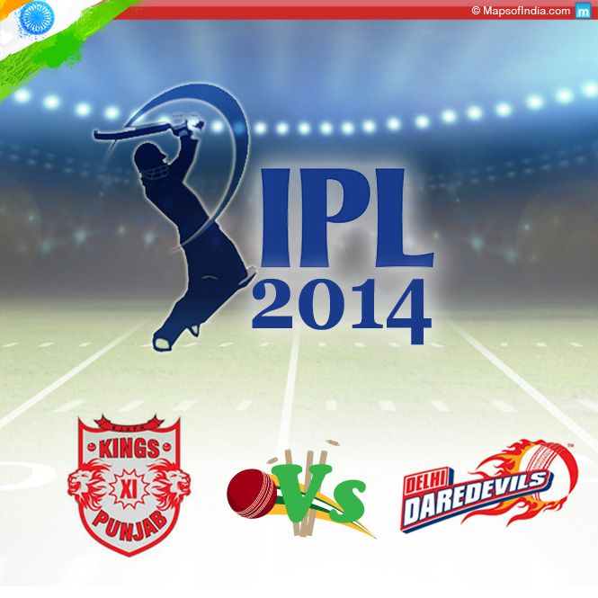 IPL 2014 – Review Of Match Between Kings XI Punjab And Delhi Daredevils