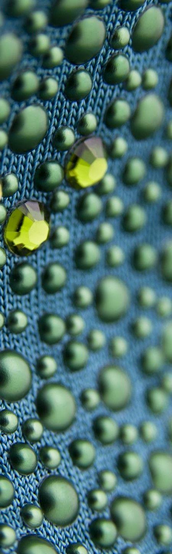 Strass verdi - Green rhinestones
