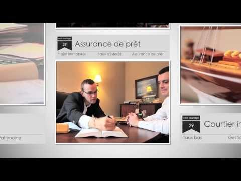 Réalisation de la vidéo de présentation du cabinet West Courtage Brest http://www.credit-brest.fr