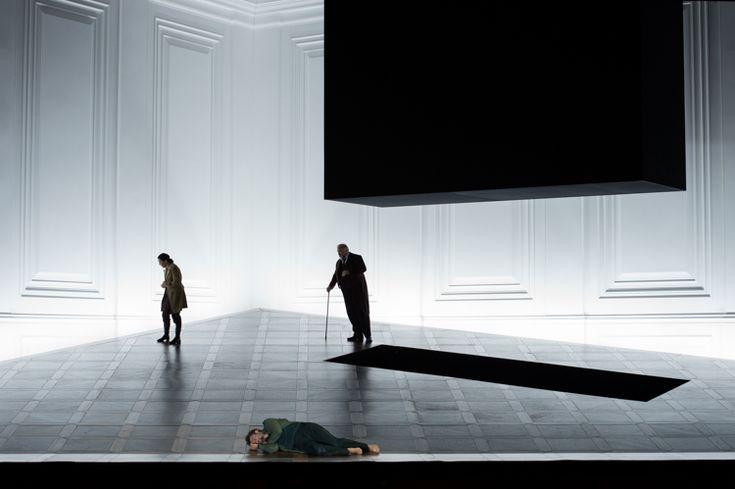 """Salzburger Festspiele, 2015 - """"Fidelio"""" - Director: Claus Guth, Set and Costume Designer:Christian Schmidt"""