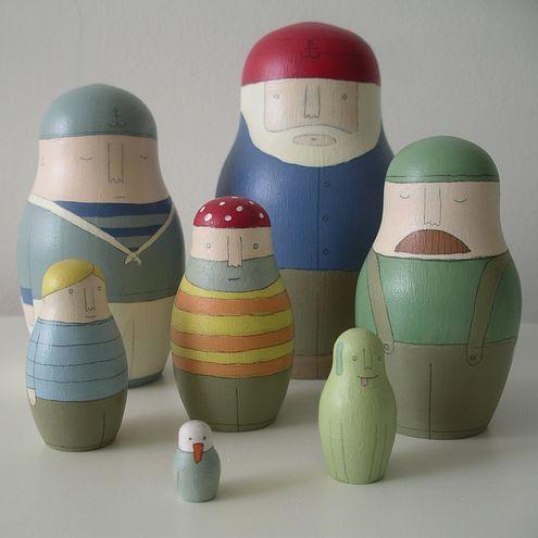 Ship's Crew (Russian Dolls) £145.00