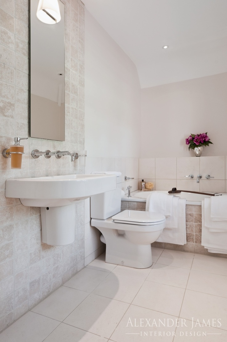 It's not all about the glitz and glamour. We do #cute bathrooms too. #interiors #design #home
