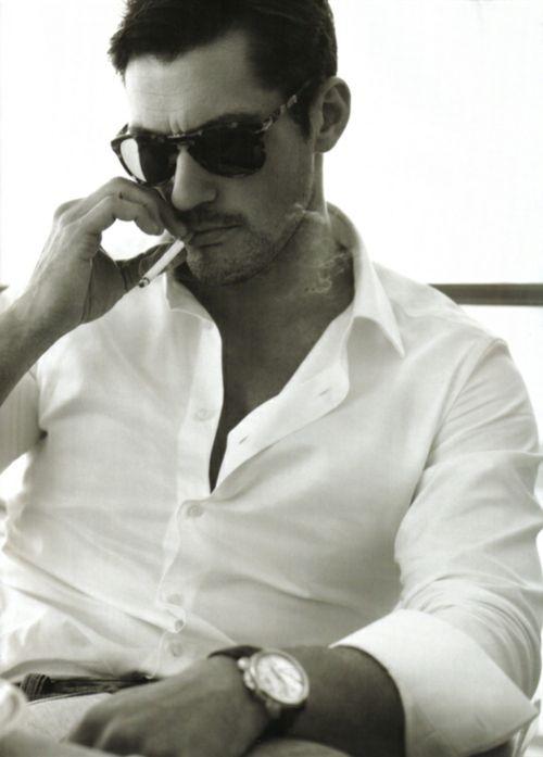 David Gandy: This Man, David Gandy, Men Style, White Shirts, Men Fashion, Mad Men, Eye Candies, Stylish Men, Davidgandy