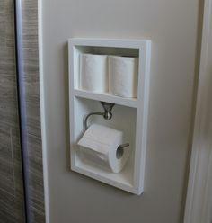 simple bathroom solutions that make a statement #bathroomstorage