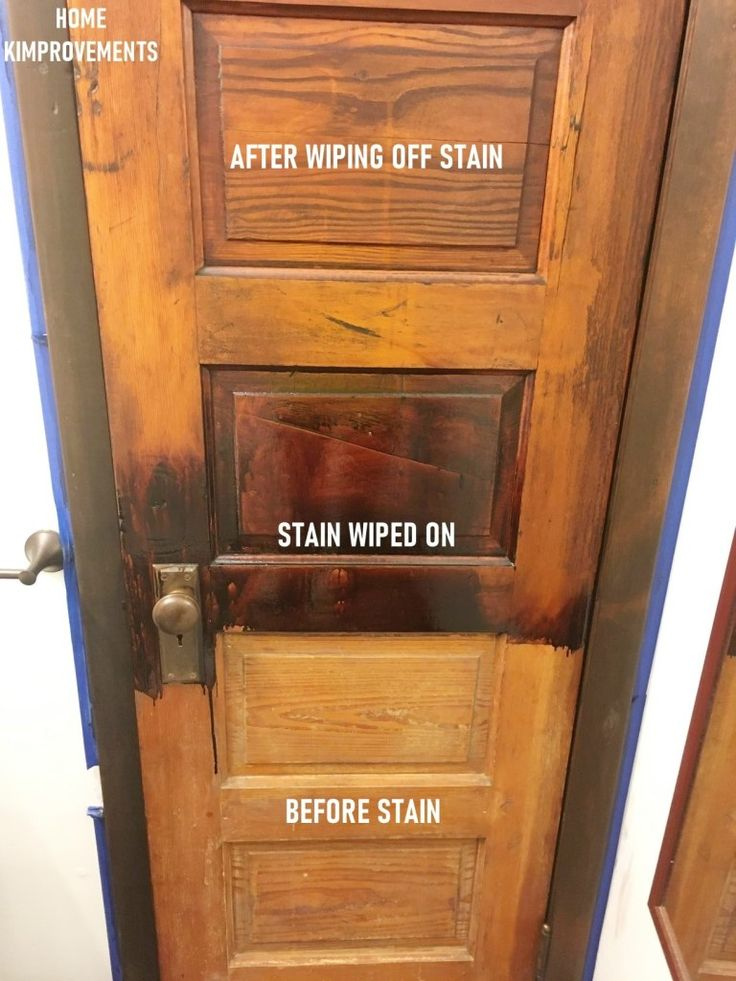 How to Refinish Old Woodwork in 2020 Staining wood