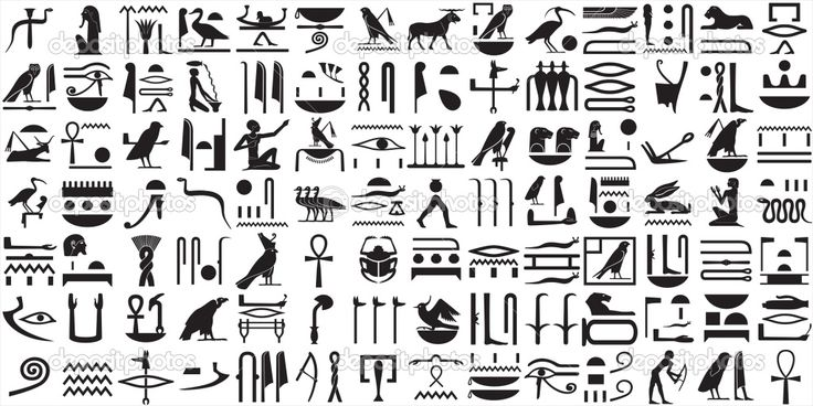 egyptian hieroglyphics symbols - Google Search