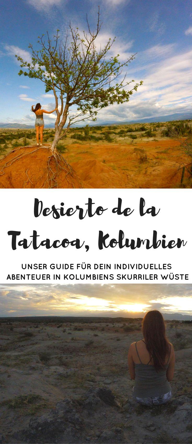 Alle Infos für deine individuelle Reise in die Tatacoa Wüste in Kolumbien! Hier findest du Tipps für die Anreise, das Finden einer tollen Unterkunft und Sehenswürdigkeiten in der Desierto de la Tatacoa. Eines unserer Highlights bei unserer Reise durch Kolumbien! #reisen #backpacking #kolumbien #urlaub #tatacoa #desert #reisebericht