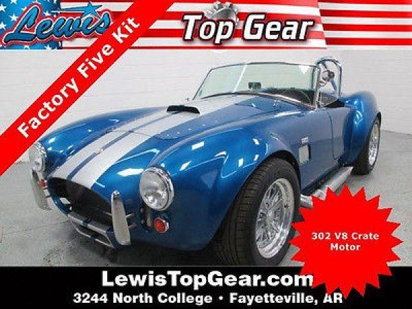 Replica Kit Makes Selby Cobra Replica Standard 1967 Ford Shelby