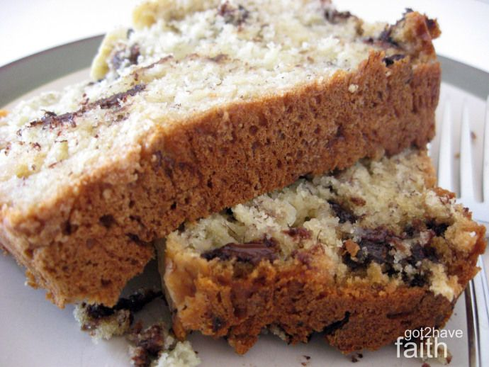 Elvis inspired banana bread - uses bananas, peanut butter and ...