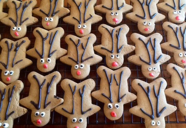 Gingerbread reindeer - Real Recipes from Mums