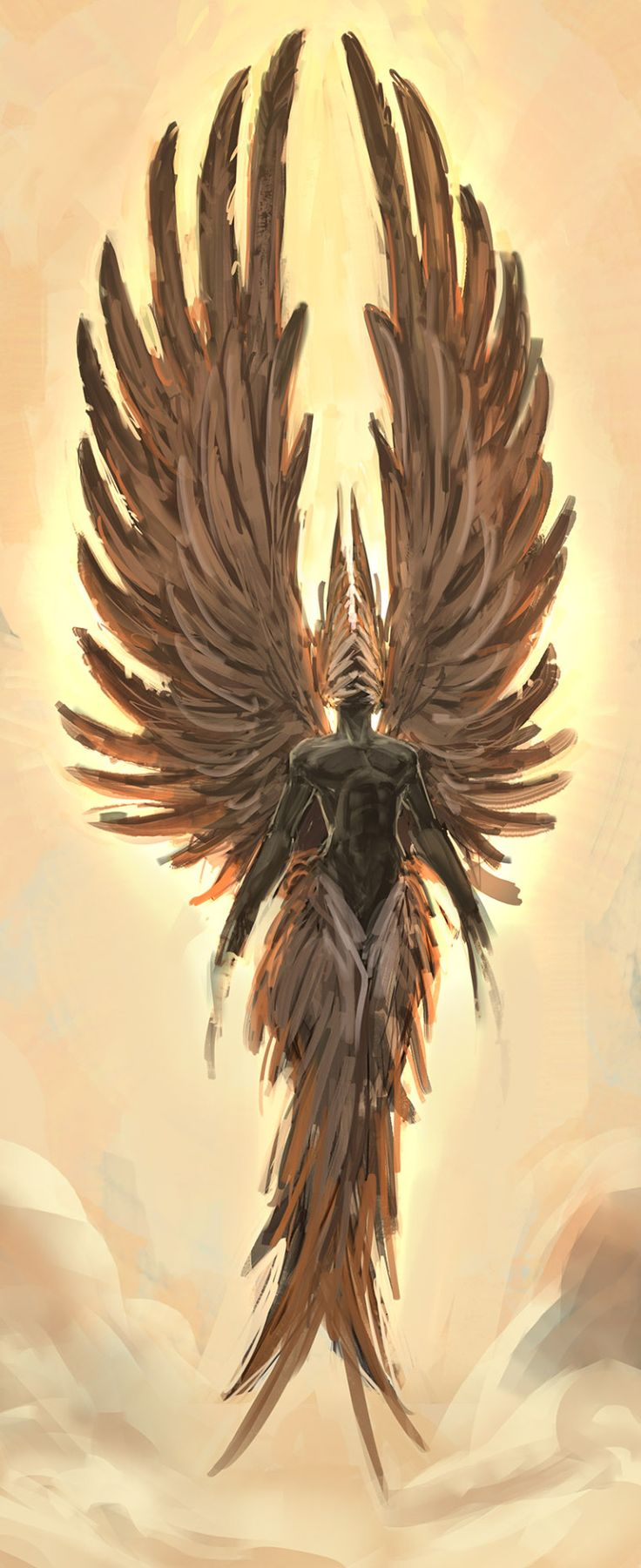 Angels! Angels everywhere!, hellotoxoplasma:   Light by HFesbra