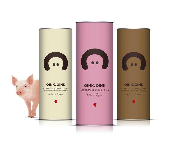 Oink, Oink | Simple Modern Box Packaging Design Inspiration | Award Winning Packaging  Design