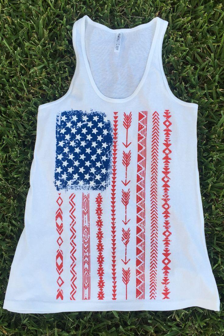 25 Best Ideas About American Flag Tank On Pinterest