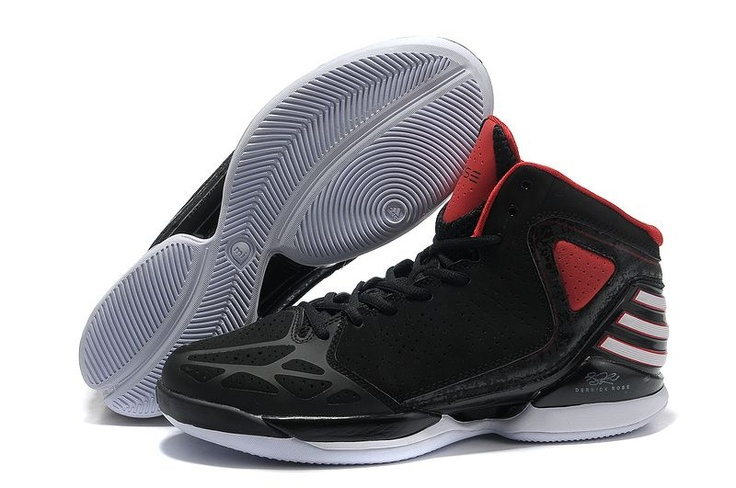bfd4536c1338 ... Great buy black white red adidas derrick rose adizero 773 sales adidas d  rose 773 Pinterest ...