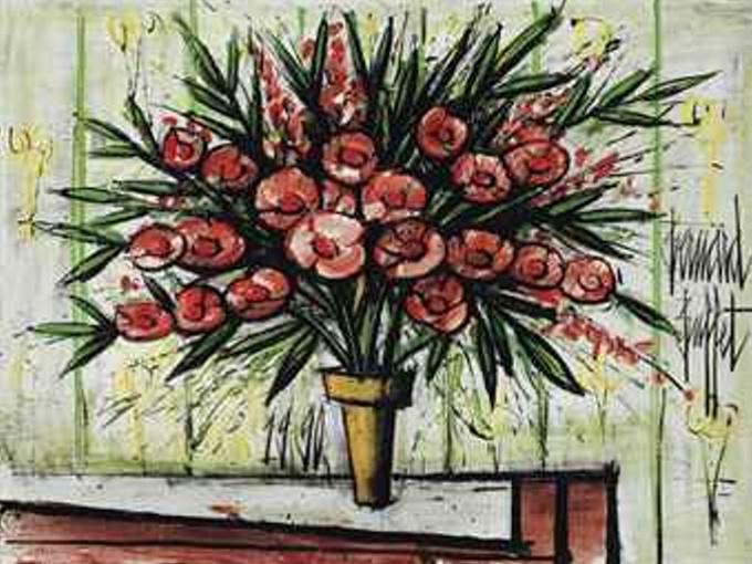 Lauriers-Roses II - Bernard Buffet
