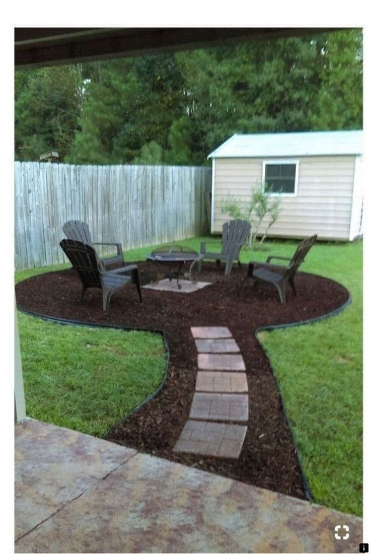 Check Out The Link To Find Out More Diy Fire Pit Under 100 Please Click Here For More Got To Like This Fire Pit Backyard Backyard Fire Backyard Landscaping