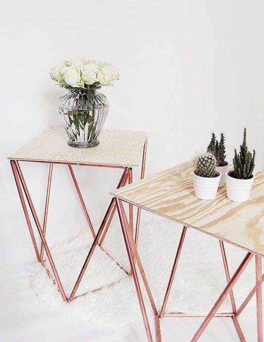 Beistelltisch Holz Selber Bauen ~   Aus Holz su Pinterest  Furnier, Selbermachen Holz e Legno