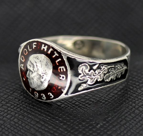 GERMAN RING SS ADOLF HITLER 1933 http://antiq24.com/product/german-ring-ss-adolf-hitler-1933/