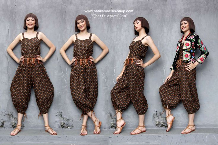 Batik Amarillis made in Indonesia NEW!! Batik Amarillis made in Indonesia www.batikamarillis-shop.com proudly presents Batik Amarillis's Helia Pants & Miss Popon camisole which features classy and classic batik 'truntum' from Sragen Batik Amarillis's Helia Pants is inspired by eastern ethnic Pants also Martial arts outfit inspired such as Judo and Jiu-Jitsu . how at the same time they look fabulous ,comfortable and stylish!