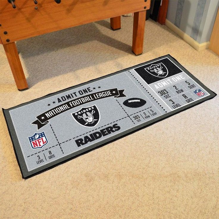 Oakland Raiders Ticket Runner