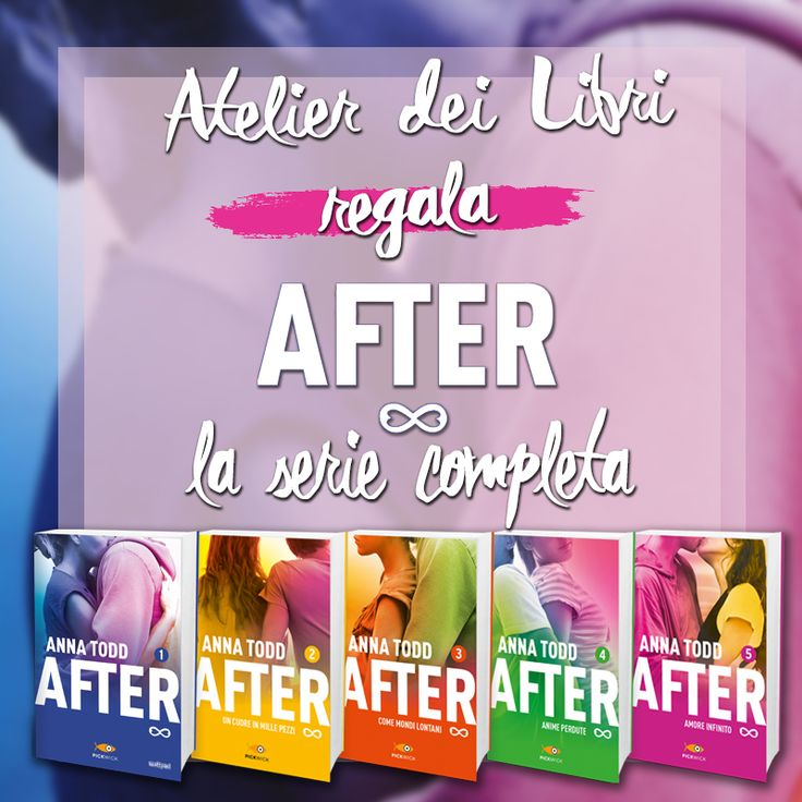 #Atelierdeilibri #AfterItalia #AfterAnnaTodd Quando una saga letteraria diventa un vero e proprio fenomeno, che ci piaccia o meno, entra a far parte del nostro mondo . Impariamo a...
