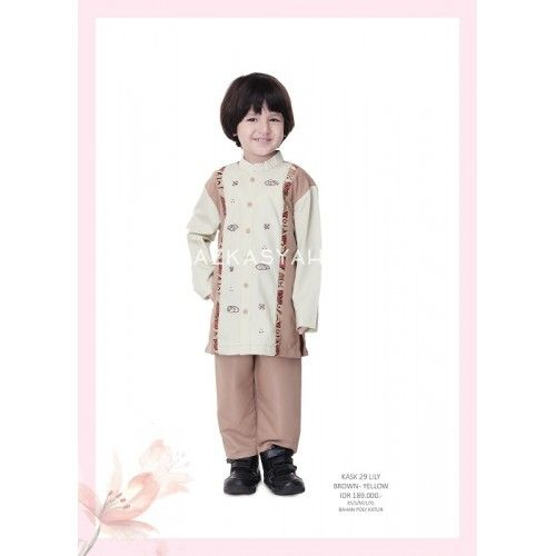 Koko Anak Azkasyah KASK 29 Lily. Pemesanan (huurin collection): 0813-9437 7905
