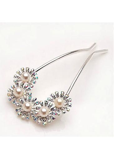 Five Daisy Hair Stick to Style Wedding Hair