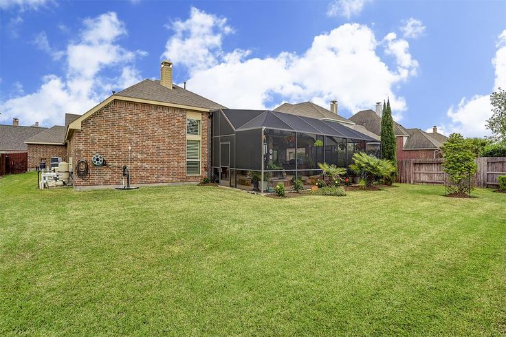 26415 Ridgefield Park Ln Cypress, TX 77433: Photo Back yard has room for play equipment and also a dog run.