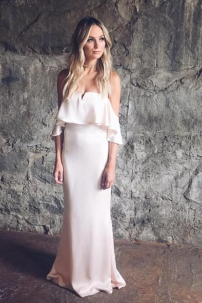Lauren Bushnell wearing Lovers + Friends Santa Barbara Dress