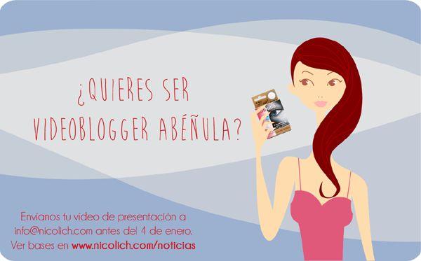 ¿Quieres ser videoblogger Abeñula?
