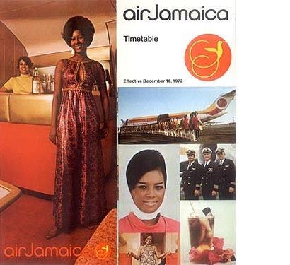 Air Jamaica ad 1972