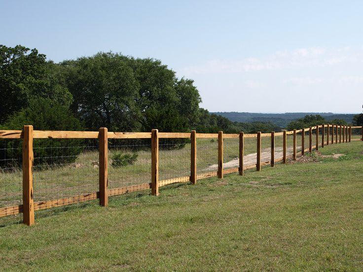 Fences of texas boerne wooden rail moeller