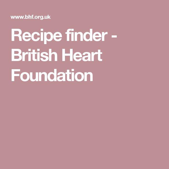 Recipe finder - British Heart Foundation