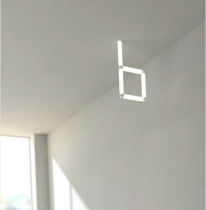 자석으로 자유롭게 연결하는 디자인 조명 (BIT Light)