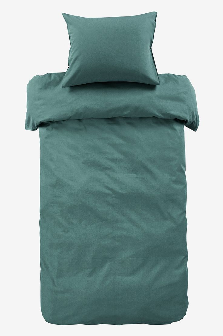 Zack ZACK påslakanset 2 delar - ekologisk - Grön - Sängkläder - Jotex.se