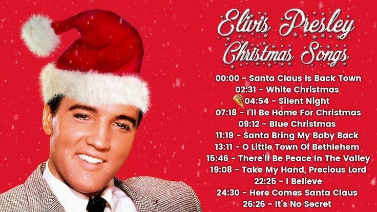 Elvis Presley - Christmas Songs (FULL ALBUM)   Elvis presley christmas songs, Elvis presley ...