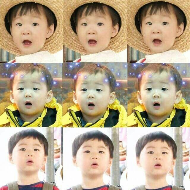 Daehun: Ha!  Minguk: Oh!  Manse: Hmm!  ㅋㅋㅋ
