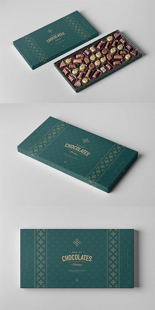 Download Box Of Chocolates Mock-up 2 PSD - Mockups - Free PSD ...