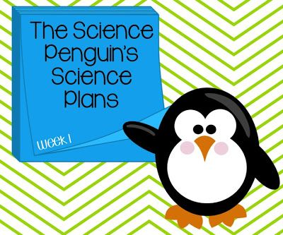 Science Penguin's 5th Grade Science Plans {Week 1}
