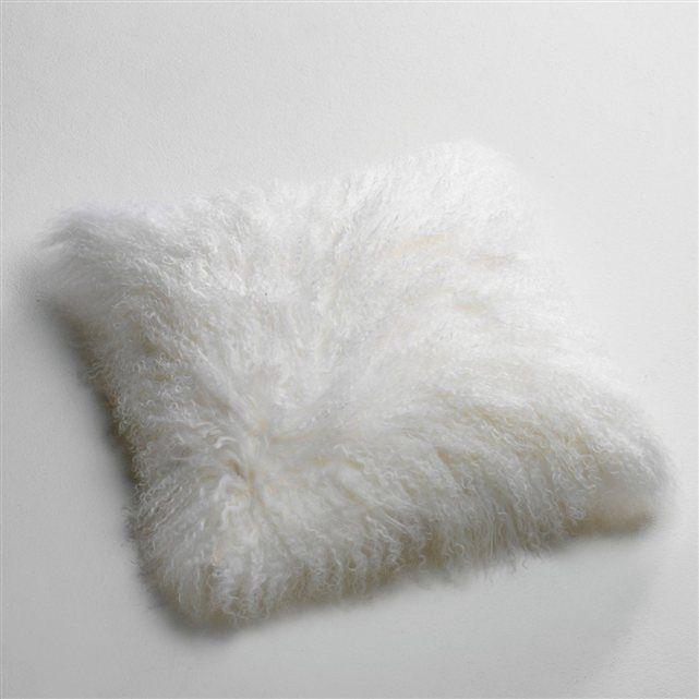 41 euros Housse de coussin laine de Mongolie, Osia La Redoute Interieurs