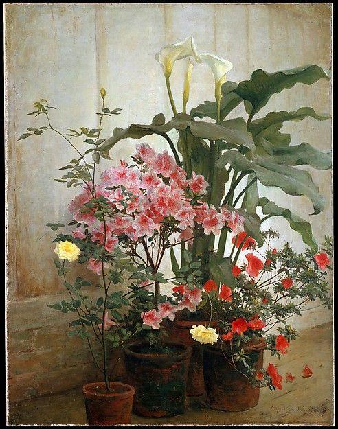 George Cochran Lambdin (American, 1830–1896). Side of a Greenhouse, 1870–80 (?). The Metropolitan Museum of Art, New York. Gift of Mrs. J. Augustus Barnard, 1979 (1979.490.10)