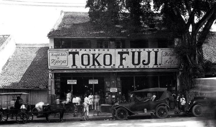 Japanse winkel in Djokjakarta.