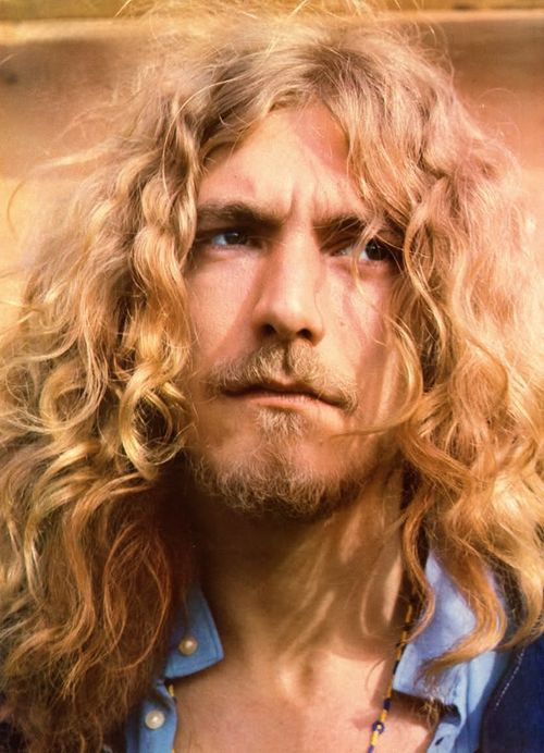 Robert Plant, singer of the rock gods Led Zepplin.