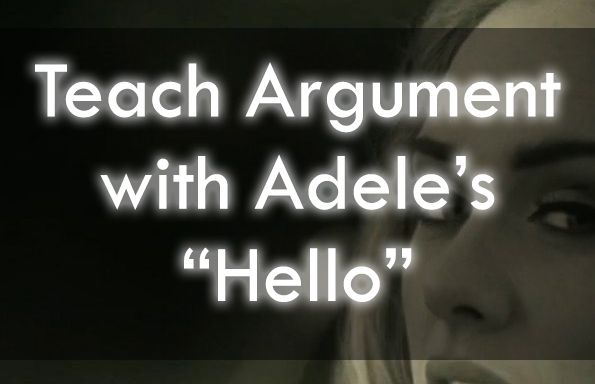 Snag these resources for teaching argument, close reading, and rhetorical analysis with Adele! #engchat #edchat