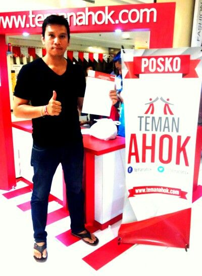 KTP gw sdh buat Ahok, gmn dgn anda? www.temanahok.com