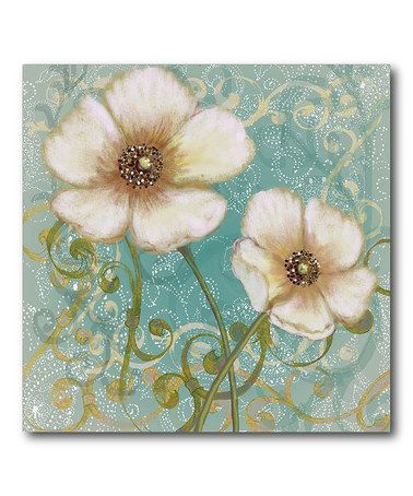 Flower Canvas Wall Art 23 best blue images on pinterest | canvas wall art, canvas walls
