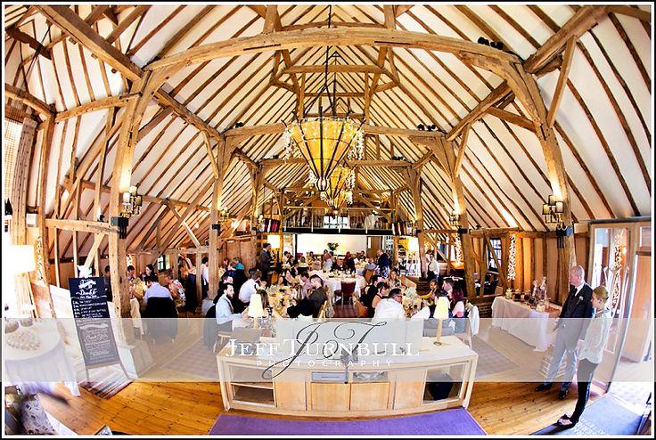 Weddiing Breakfast time at The Barn Brasserie Wedding Venue. Photography by www.JeffTurnbull.co.uk