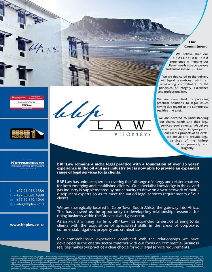 BBP Law makes an appearance in the OIL and GAS Decisions 2015 Magazine
